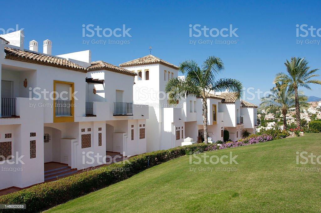 Residence in Puerto Banus - Marbella royalty-free stock photo