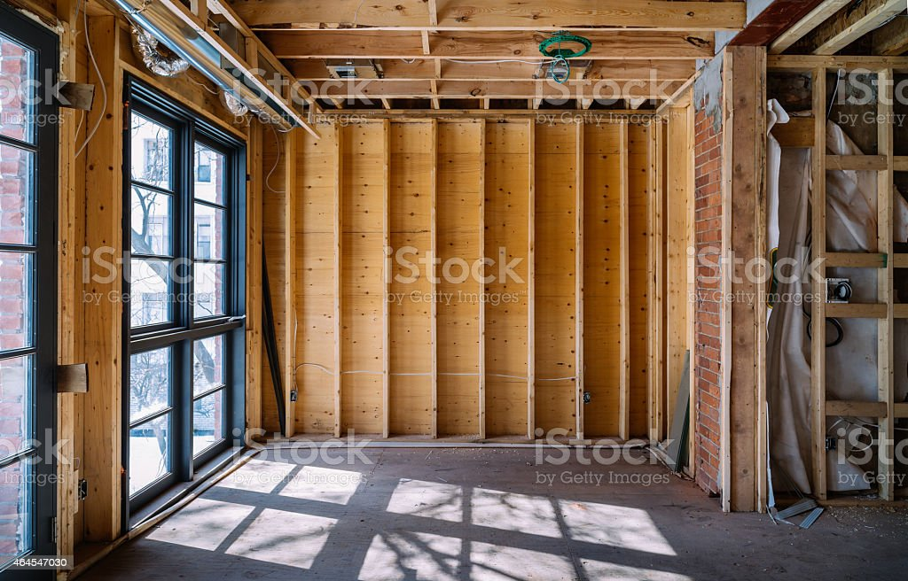 Residence renovation stock photo