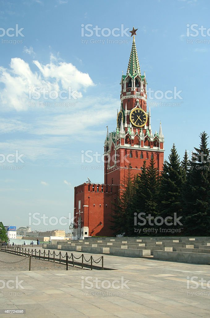 Residence Russian president stock photo