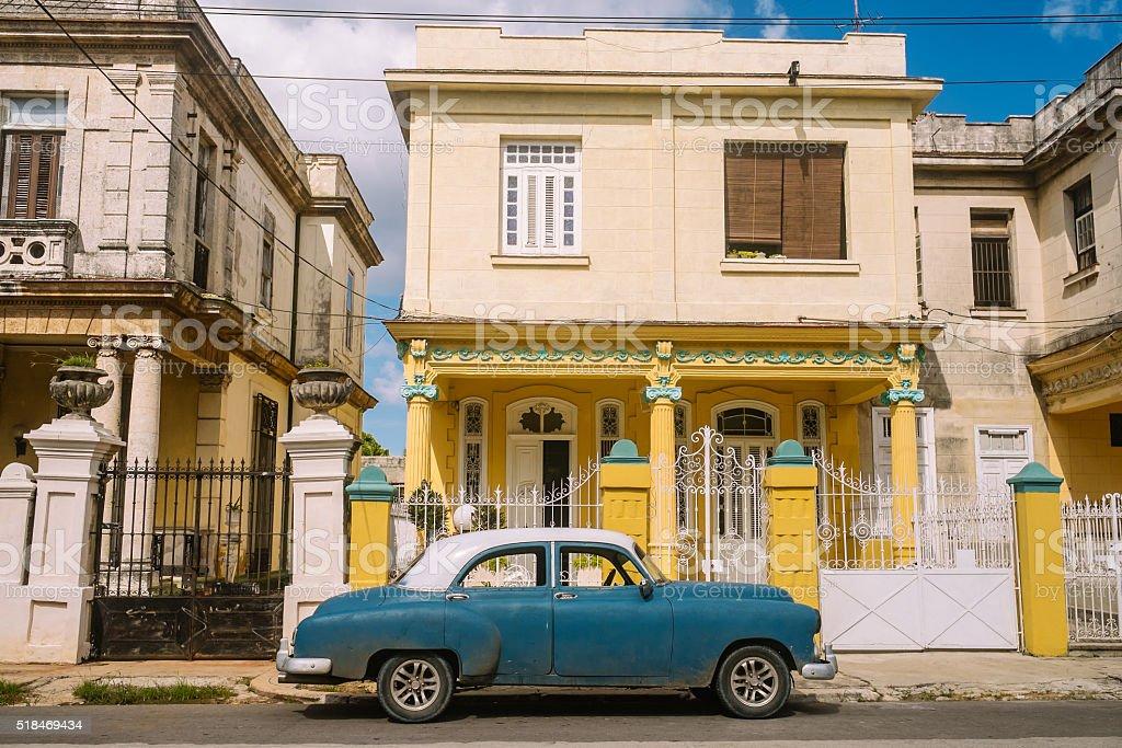 Residental Architecture of Vedado stock photo