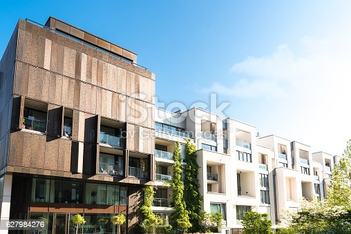 istock residential architecture in Berlin Prenzlauer Berg 627984276