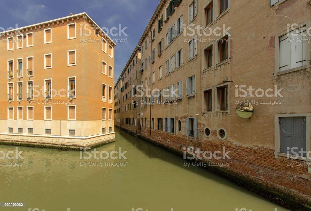 Ein Wohngebiet in Venedig – Foto