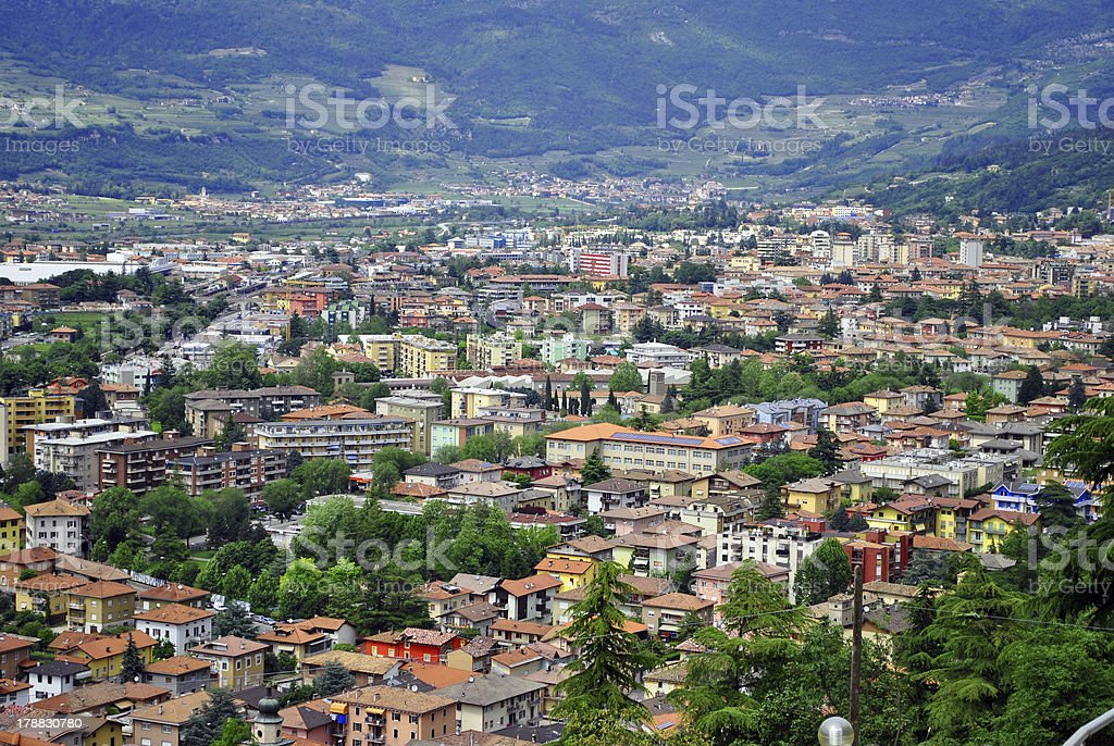 residential area stock photo