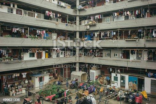 istock residential building in Shanghai 499631336
