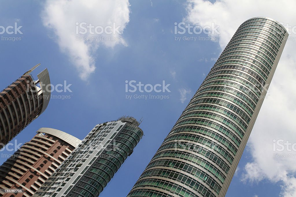Residential Buildings stock photo