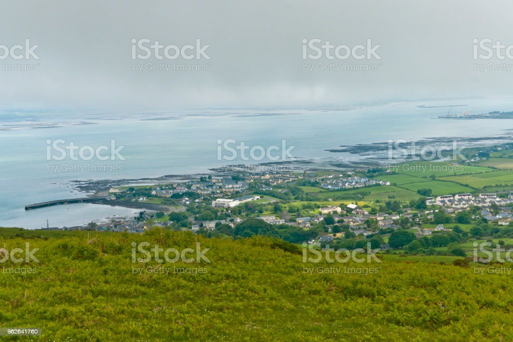 Residential Carlingford stock photo