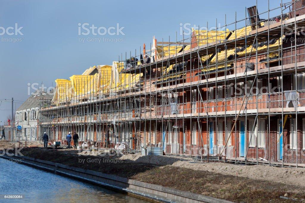 Woningbouw site foto