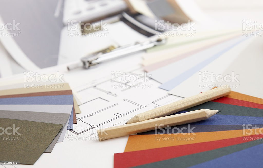 residential Design Concept royalty-free stock photo