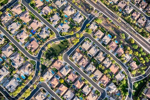 istock Residential Development Aerial 1066713660