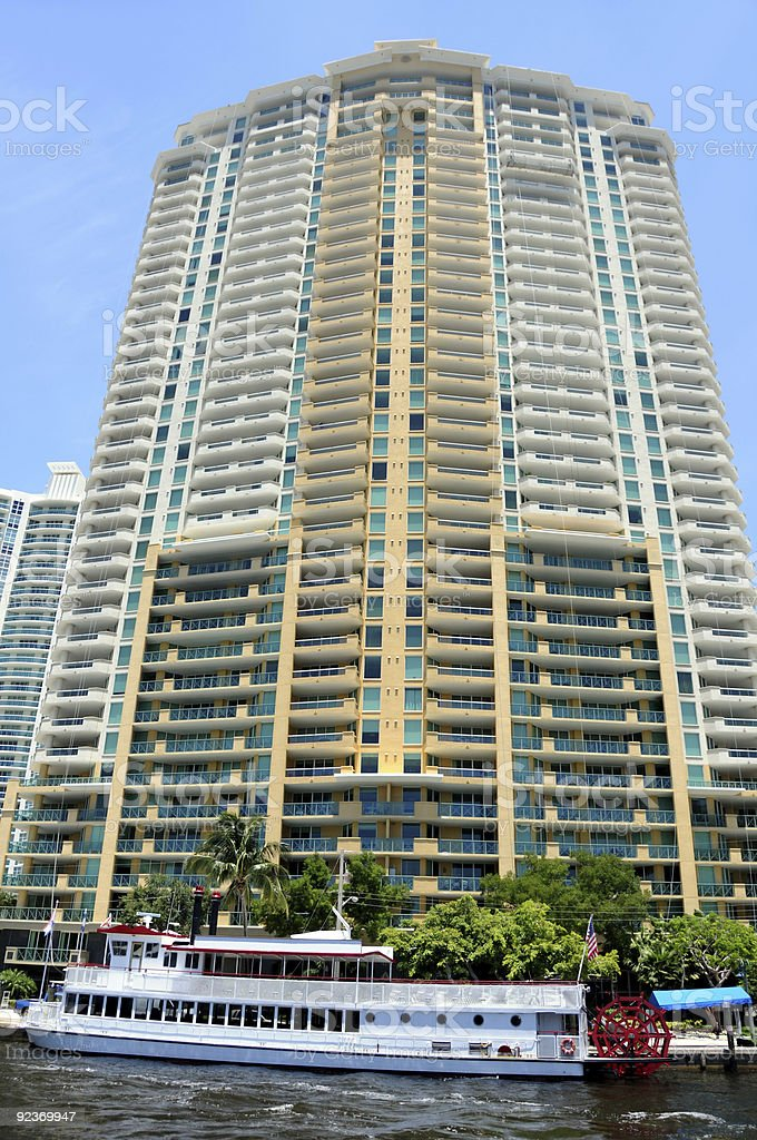 Residential highrise royalty-free stock photo