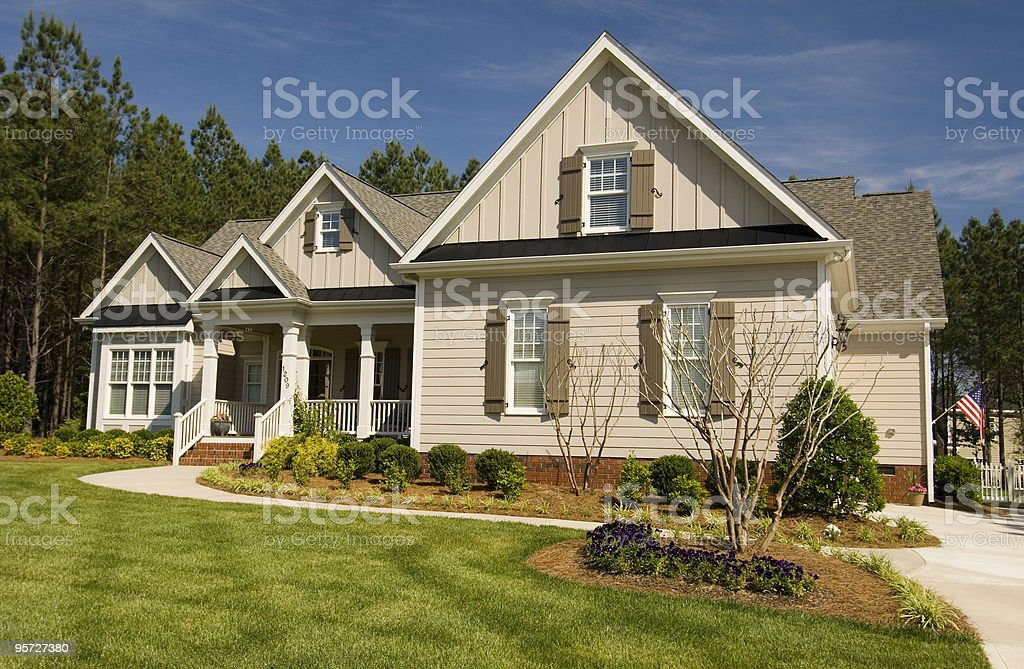 Residential House royalty-free stock photo
