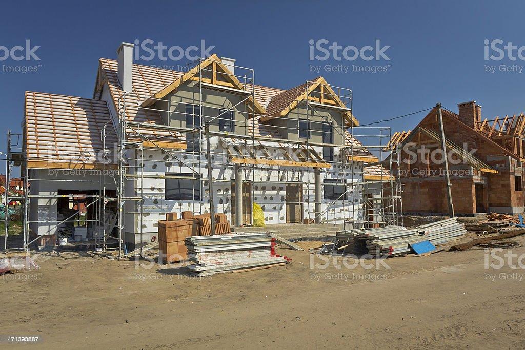Residential Haus im Bau – Foto