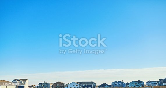 Residential Housing Background. Colorado, USA