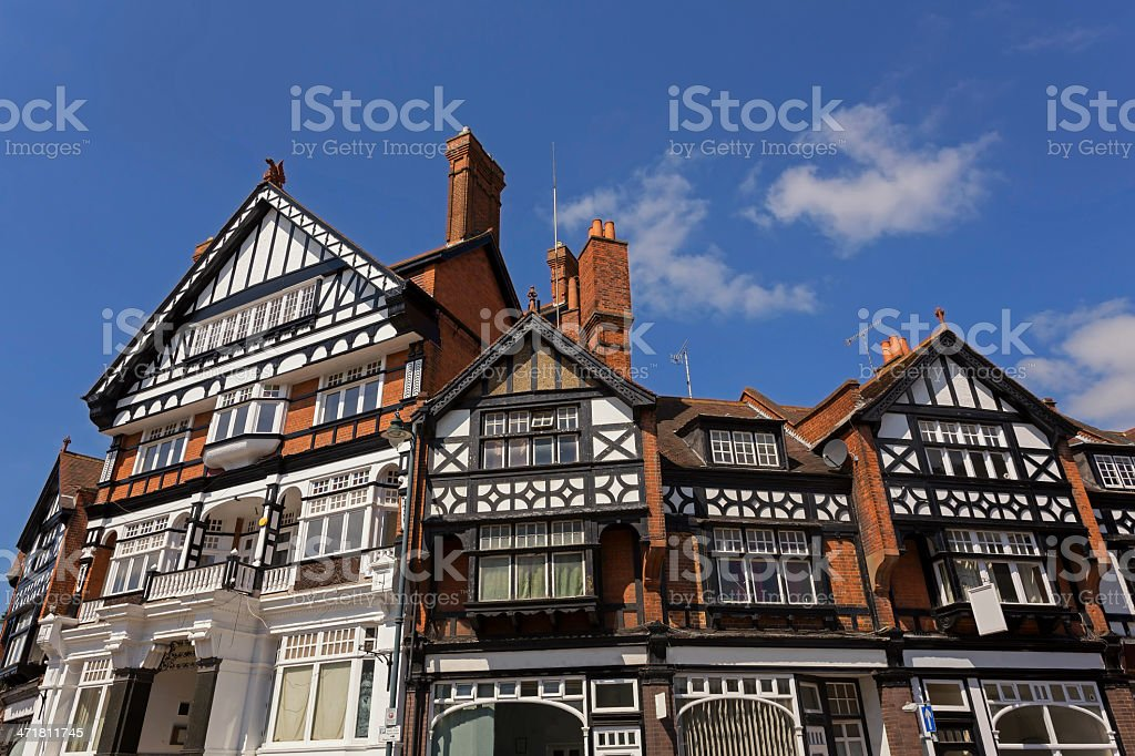 Residential in Henley on Thames stock photo