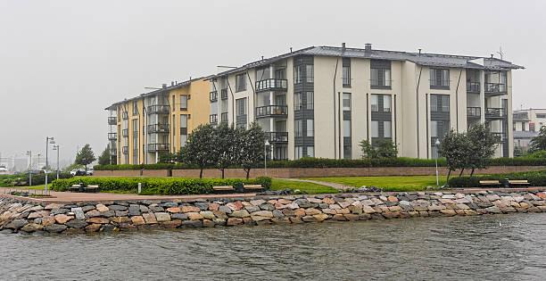 Faible hauteur de ses bâtiments résidentiels - Photo