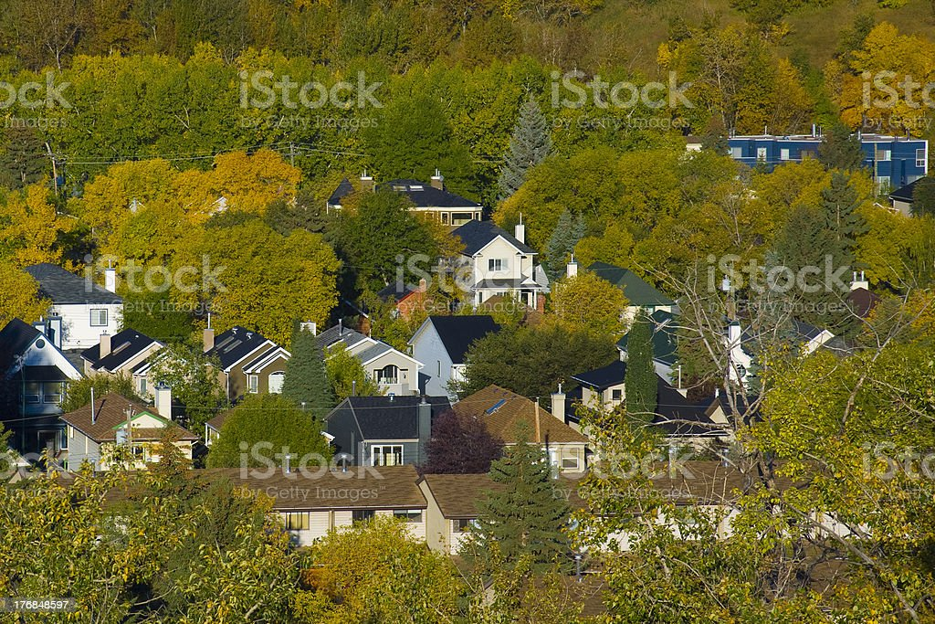Residential stock photo