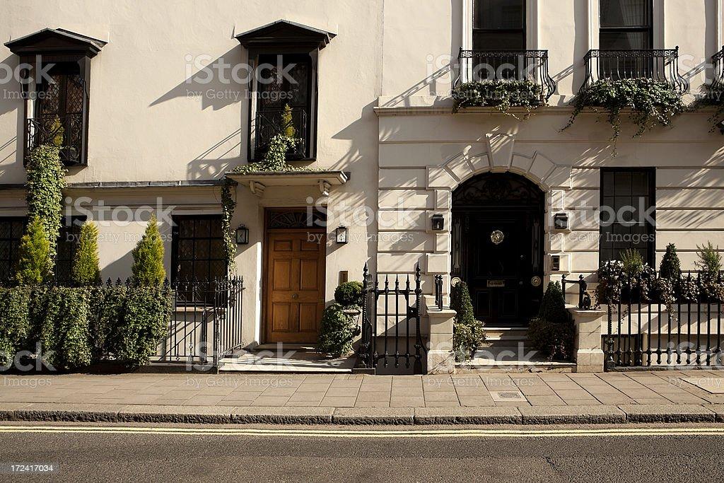 Residential Properties, London, UK   XXXL royalty-free stock photo