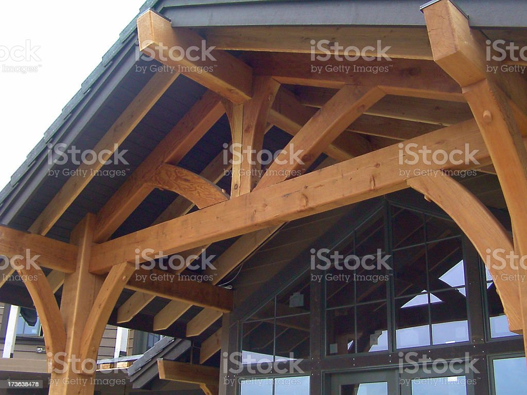 Residential Truss stock photo