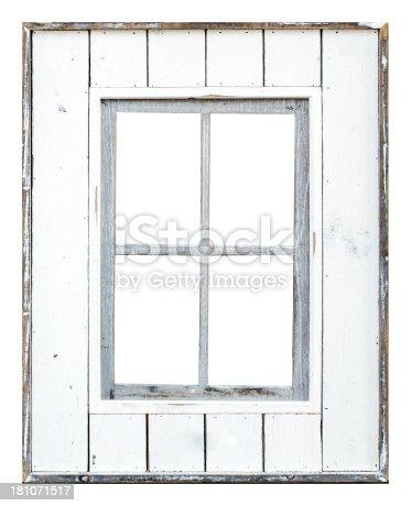 Residential Window Frame On White Stock Photo Istock