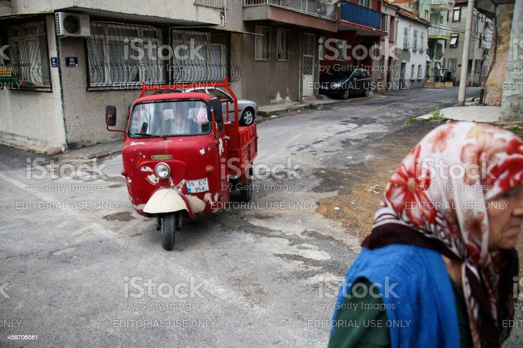 Residents of Varyant, İzmir royalty-free stock photo