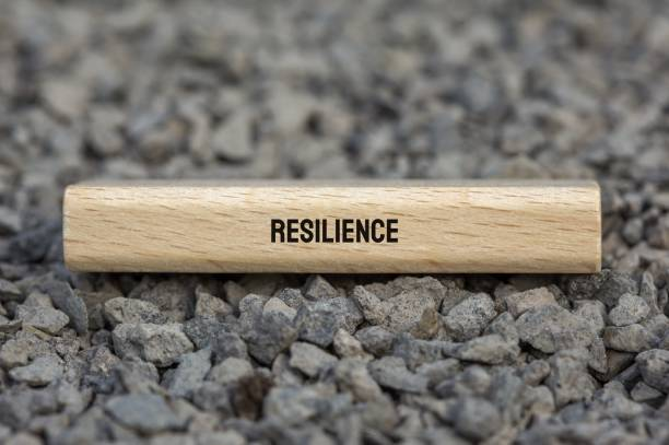 Resilience - Protests - Image, Illustration with words related to the topic Protests stock photo