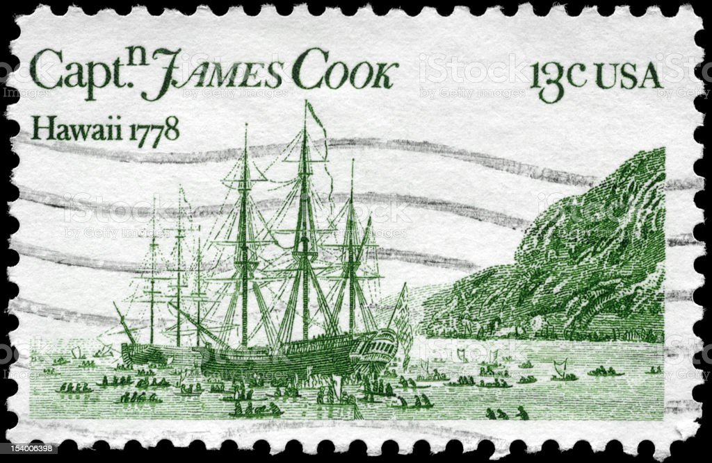 A Stamp printed in USA shows the