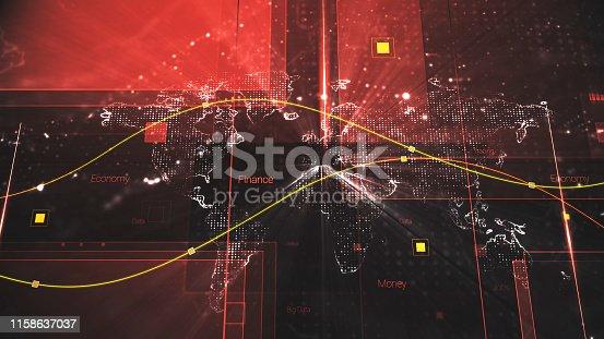 185274311istockphoto 4K Resolution - Finance and Economy background 1158637037