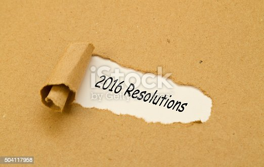 istock Resolutions 2016 Torn Paper Concept 504117958