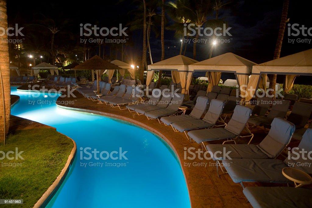 Resort bei Nacht – Foto
