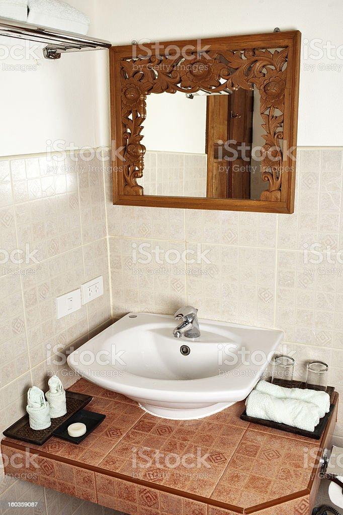 Resort Bathroom royalty-free stock photo