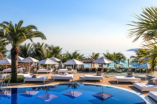 ośrodek plaży w brazylii - kurort turystyczny zdjęcia i obrazy z banku zdjęć