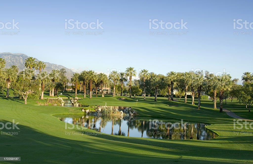 Resort Golf Course royalty-free stock photo