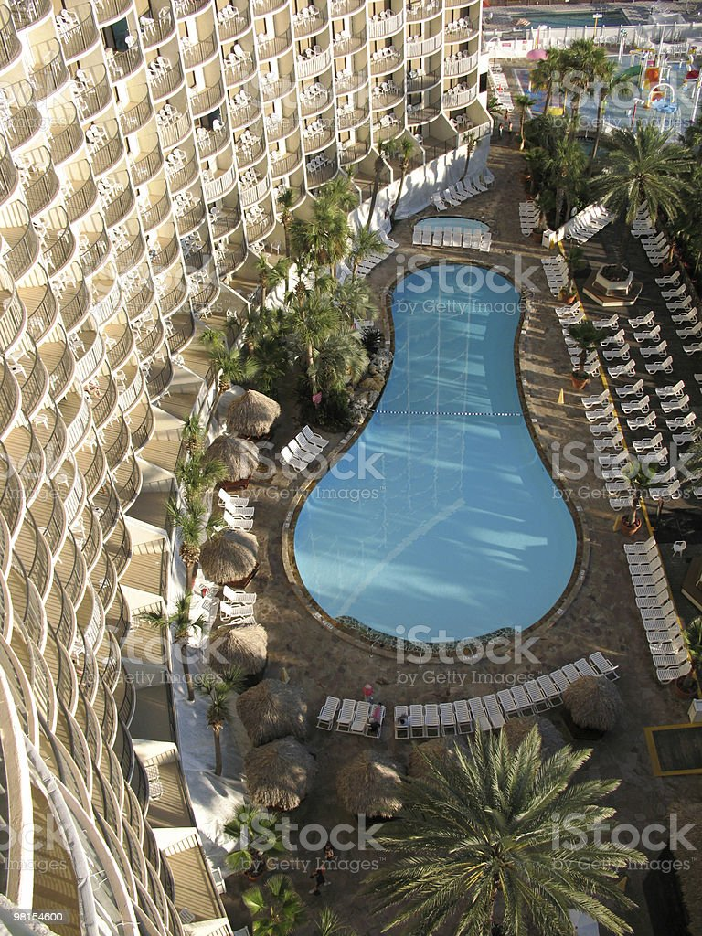 Resort Hotel a Panama City, Florida foto stock royalty-free