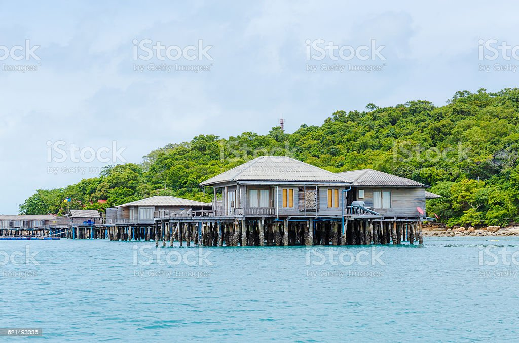 Resort in Tailandia foto stock royalty-free