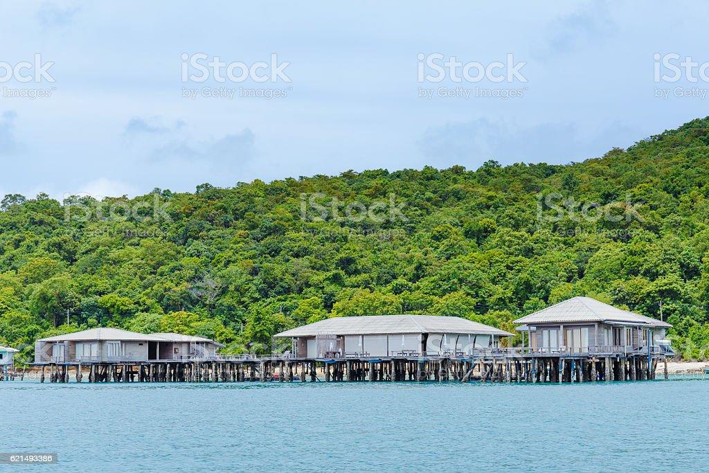 Resort in Tailandia foto stock royalty-free