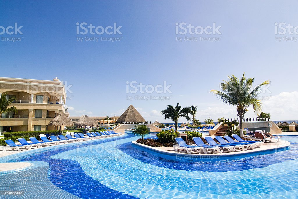 Resort stock photo