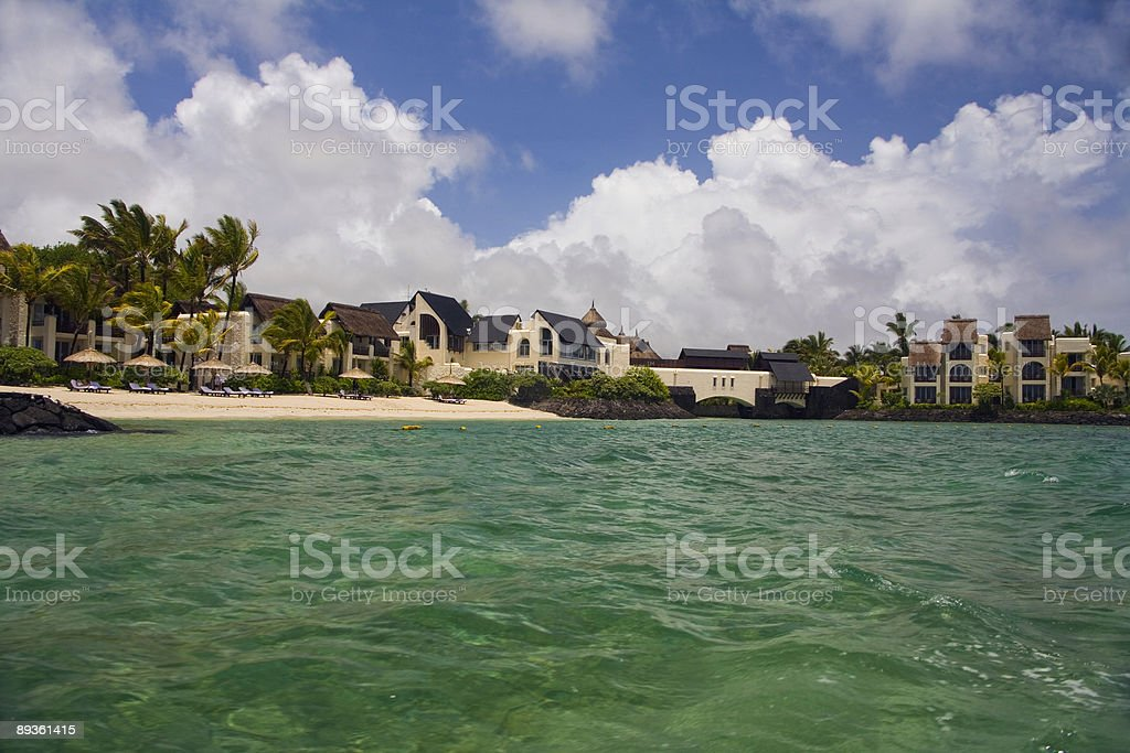 Resort royalty-free stock photo