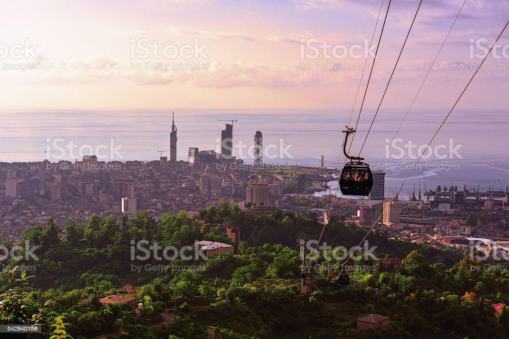 resort town of Batumi stock photo
