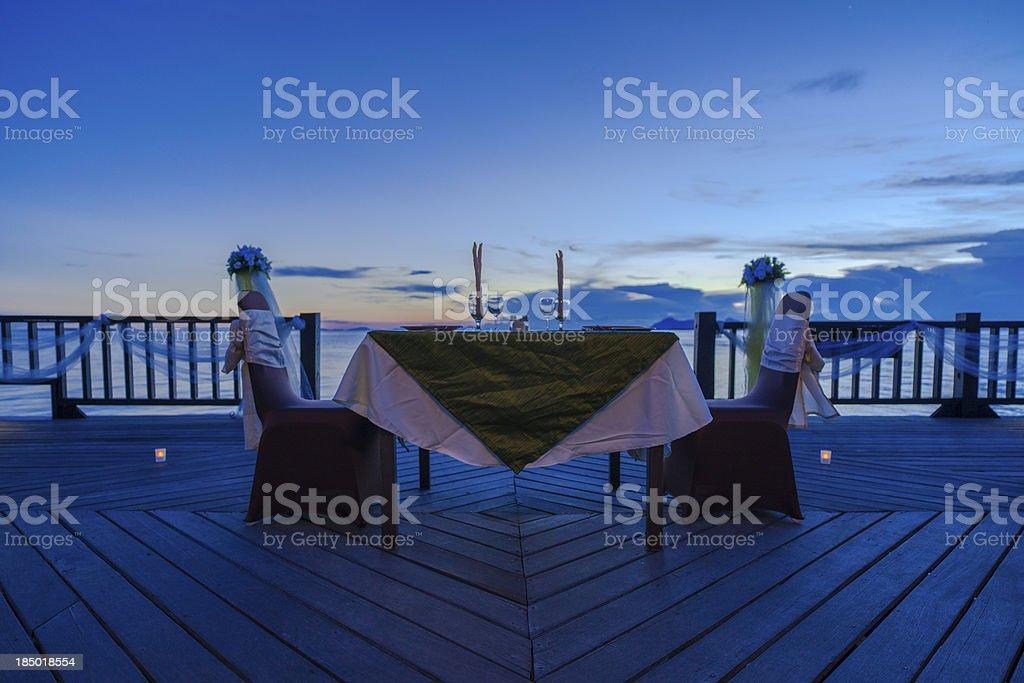 resort wedding royalty-free stock photo