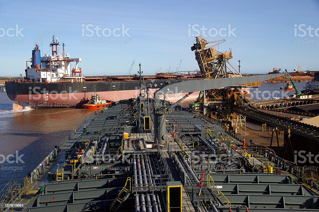 Resource shipping stock photo