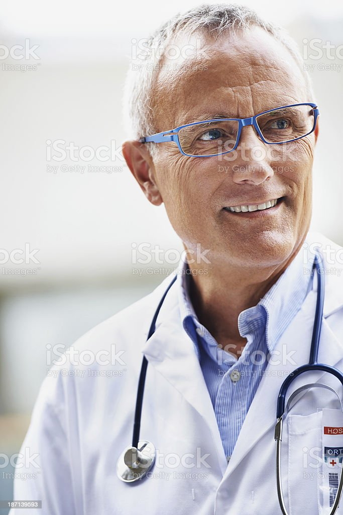Respected by his team royalty-free stock photo