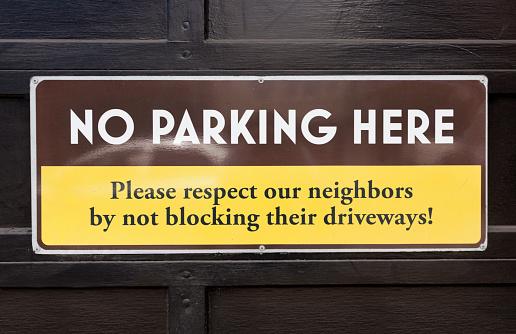 Respectful No Parking