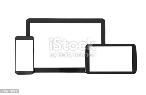 istock Responsive design technology 864606800