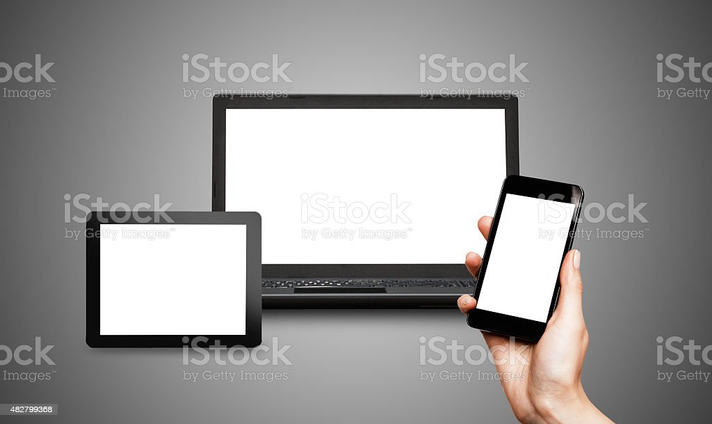 Responsive web design - foto de stock