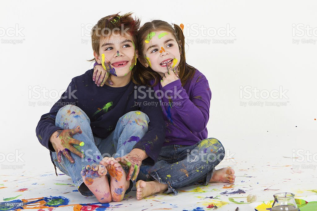 Rest after creation time royalty-free stock photo