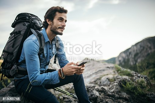 istock Rest and enjoy the sight 813065748