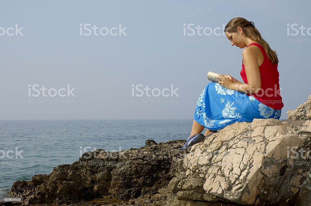 Rest and relaxation royalty-free stock photo