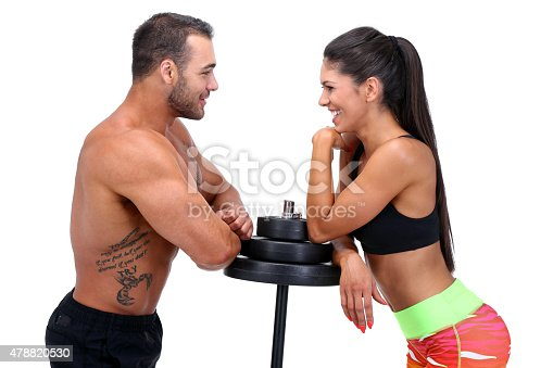610237160 istock photo Rest between exercises 478820530