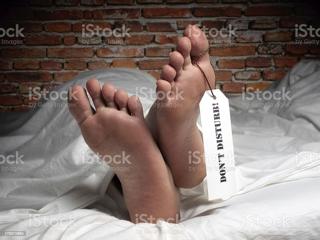 Rest in peace stock photo