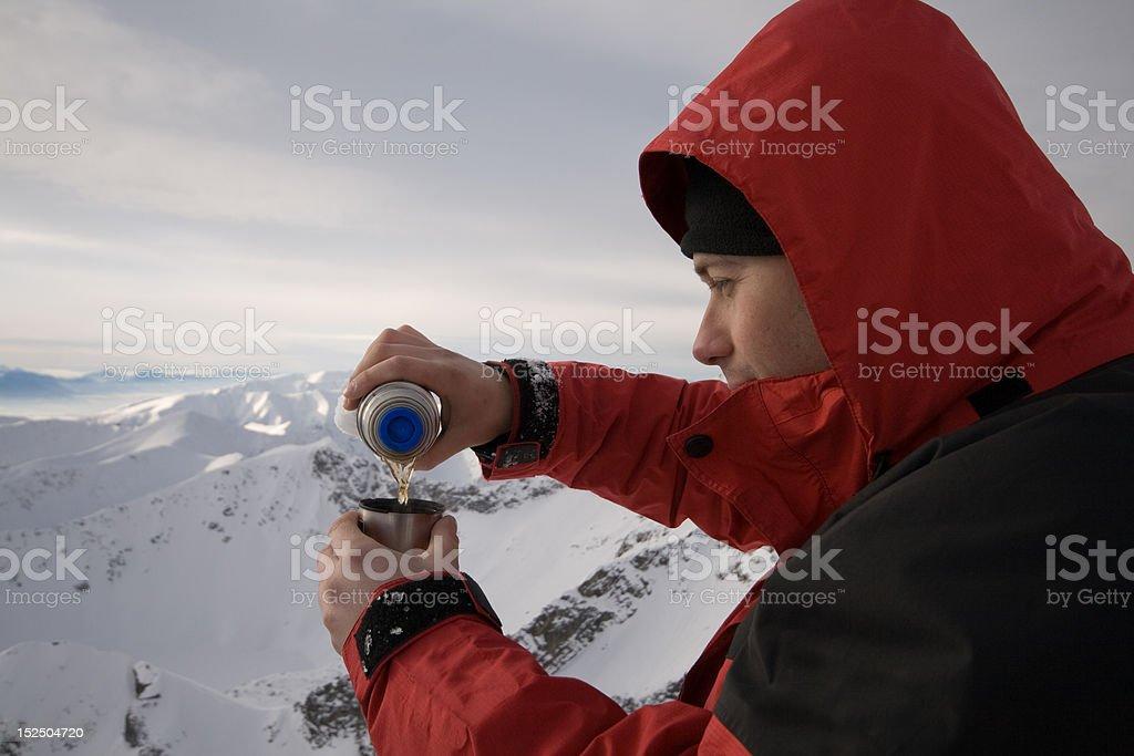 rest in Tatras royalty-free stock photo